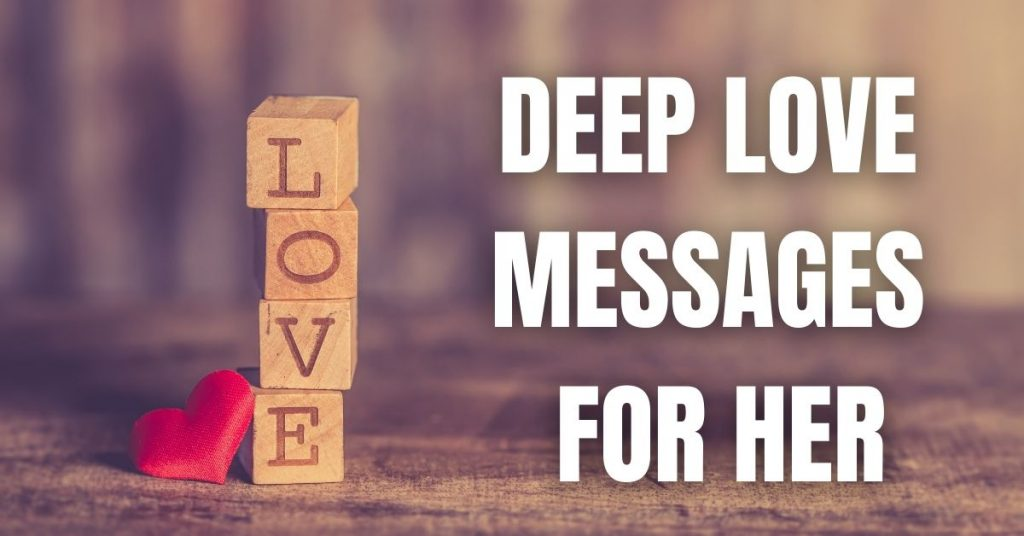 Deep Love Messages For Her