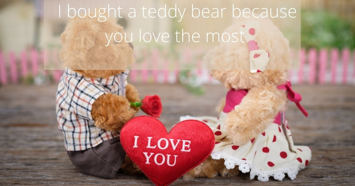First-Date-Gifts-for-Her-Teddy-bear